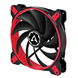 ARCTIC BioniX F140 - 140 mm Gaming Case Fan with PWM PST | Cooling Fan with PST-Port (PWM Sharing Technology) | Regulates RPM in sync - Red,ACFAN00095A