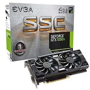 EVGA GeForce GTX 1050 Ti SSC GAMING ACX 3.0, 4GB GDDR5, DX12 OSD Supporto (PXOC) Scheda Grafica 04G-P4-6255-KR