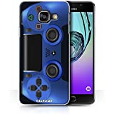 Coque de Stuff4 / Coque pour Samsung Galaxy A3 (2016) / Bleu Design / Playstation PS4 Collection