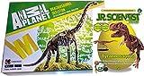 EDU Toys Set Brachiosaurus Skelett Bausatz 23 Teile Animal Planet Plus Tyrannonsaurus Rex GK008