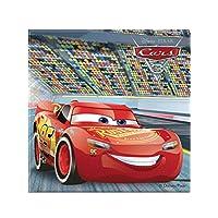 Procos Disney Cars 2Ply Napkin Set Of 20, Multi Color