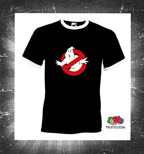 world-of-shirt Herren Retro T-Shirt Ghostbusters Die Geisterjäger Schwarz