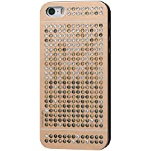 iShield® SE Light with Crystals from Swarovski® Luxus Case for iPhone SE/5/5S Aluminium surface with 328 pcs Crystals from Swarovski® Model: iShield® SE Light Case Luxus Gold