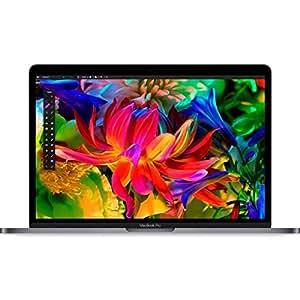Apple MacBook Pro 13-inch Laptop (Dual-Core Intel Core i5, 2.0 GHz, 8 GB, 256 GB SSD, Intel Iris Graphics 540, OS Sierra) - Space Grey - 2016 - MLL42B/A - UK Keyboard