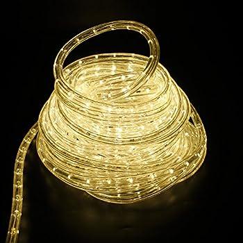 Led Lichterschlauch Lichtschlauch Lichterkette Licht Leiste 36ledsm Schlauch Für Innen Und Außen Ip44 30m Warmweiß 2