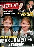 Le Nouveau Détective - n°1419 - 25/11/2009 - Jetées vivantes du 8e étage : Deux jumelles à l'agonie