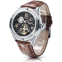 Time100 W60053G.02A W600 - Reloj pulsera mecácino para hombres de color marrón
