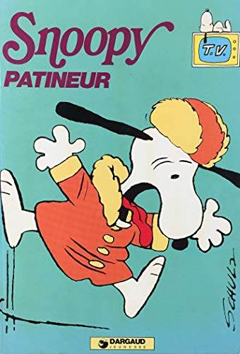 Snoopy patineur