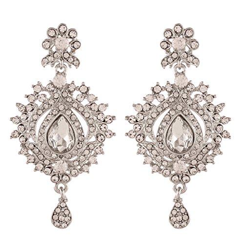 I-Jewels-Traditional-Rhodium-Plated-Austrian-Diamond-Earrings-for-Women-E2194ZW-White