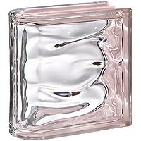 1 pezzo BM Vetromattone ACQUA Riflesso Rosa