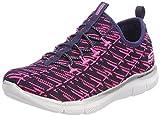 Skechers Mädchen Skech Appeal 2.0-Insights Ii Slip On Sneaker, Blau (Navy/neon Pink), 37 EU