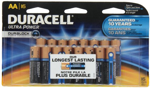 Duracell Ultra Power Aa Batteries 16 Count Duracell Coppertop 9v Batterien