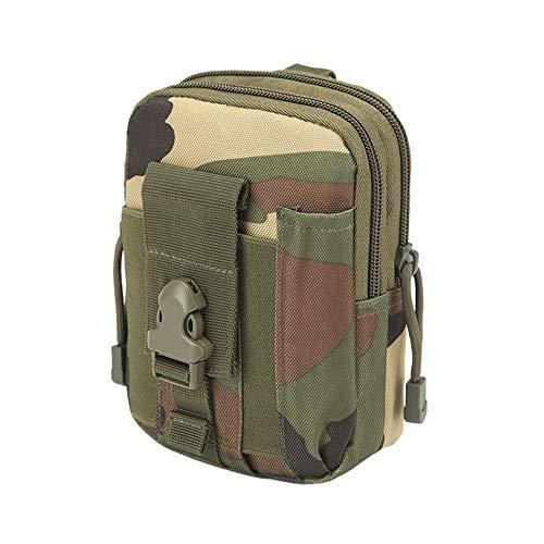 holitie Herren Waterproof 1000D Oxford Multipurpose Sports and Outdoor Belt Bag Chest Bag Hunting Tactical EDC Belt Waist Bag Pockets Shoulder Bag Small ()
