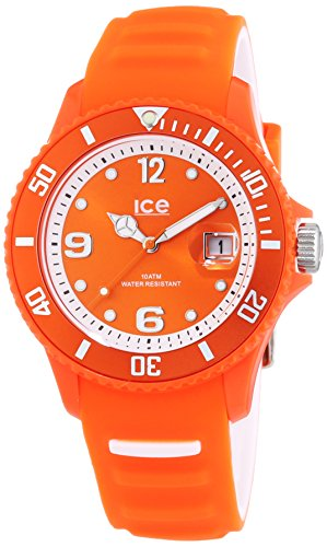 ICE-Watch SUN.NOE.U.S.14 Sunshine 2014 - Wristwatch Unisex, Silicone, Band Colour: Orange