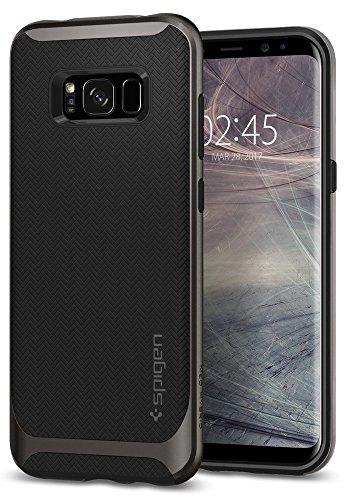 Funda Galaxy S8, Spigen® Carcasa [Neo Hybrid] Protección interna flexible y marco reforzado de parachoques duro para Galaxy S8 (2017) - Gunmetal