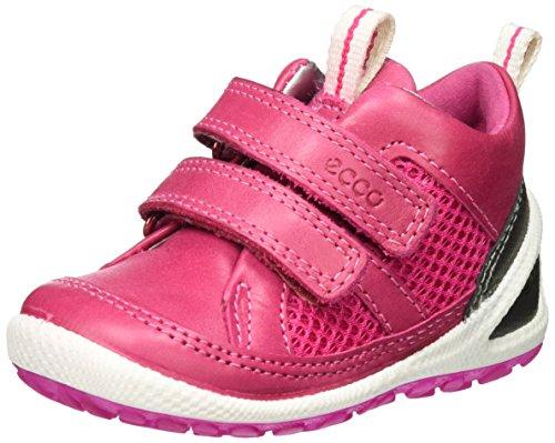 Ecco Baby Mädchen Biom Lite Infants Lauflernschuhe, Pink (50292silver Mettallic/Beetroot/Beetroot), 23 EU