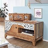 Best Muebles orientales muebles orientales Mesas de comedor - Wohnling LOWBOARD anju 90x 50x 45cm Acacia Madera Review