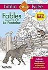 Bibliolycée - Bac 2020 : Séries générales - Fables de la Fontaine (Livres de VII à XI) par La Fontaine