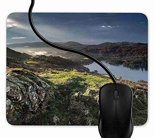 Mauspad Coniston Water Lakes Rutschfeste Gummi Basis Mouse pad, Gaming mauspad für Laptop, Computer 1F2438 -