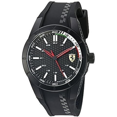 Ferrari Uomo RED REV EVO Analog Informale Di quarzo Reloj 0830301