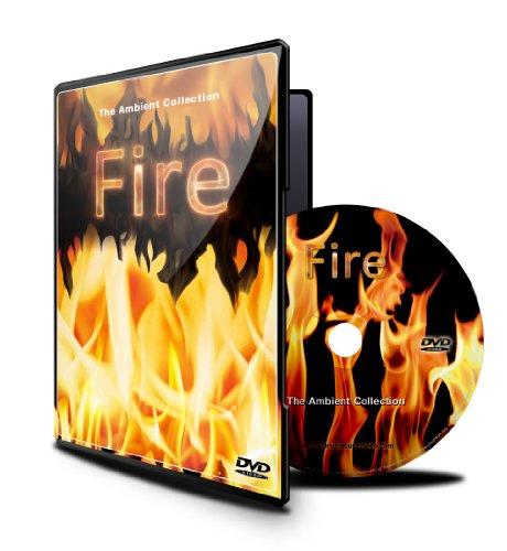 Fuego DVD Filmada en HD/definación alta - escenas bucle de chimeneas, fogatas, fuegos de madera, chimenea de