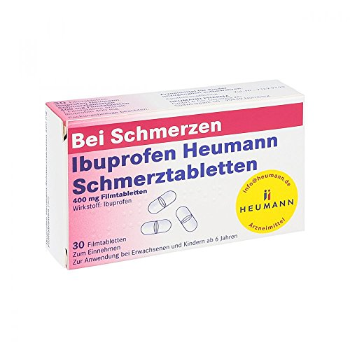Ibuprofen Heumann Schmerztabletten 400 mg, 30 St. Filmtabletten