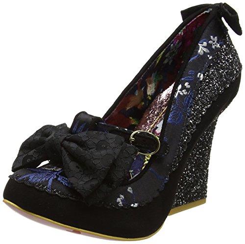 Irregular Choice Women''s Soap & Suds Closed-Toe Heels, (Black), 6.5 UK 40 EU
