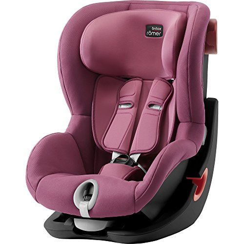 Britax Römer Autositz King II black Series, Gruppe 1 (9 - 18 kg), Kollektion 2018, wine rose