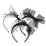Frcolor 3pcs Spitze Stirnband Haarreif mit Bogen für Damen Mädchen