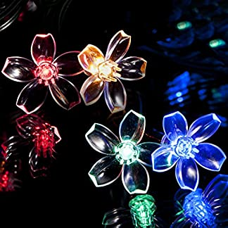 SPV Lights – Guirnalda de Luces solares con Luces LED (100 Unidades)