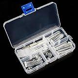 Tragbare Gewindemutter Brillen Reparatur Set Sonnenbrillen Uhren Schmuck Schraubendreher Schraubenzieher Werkzeug