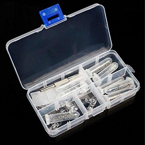 Brillen-sonnenbrillen-reparatur-kit (Tragbare Gewindemutter Brillen Reparatur Set Sonnenbrillen Uhren Schmuck Schraubendreher Schraubenzieher Werkzeug)