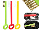 3 Pcs Key Shaped Multipurpose Cleaning B...