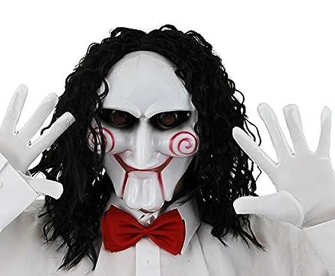 Saw Billy Costume - Déguisement du tueur au puzzle avec un