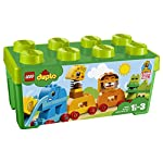 LEGO DUPLOMyFirst IlTrenodegliAnimali dello Zoo, Set Facile da Custodire,Giocattoli per Bambini e Bambine di Età Prescolare 1.5-3Anni, 10863 LEGO