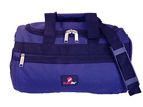 Roamlite borsone piccolo – adatto per voli ryanair come secondo bagaglio a mano – misure esatte 35 x 20 x 20 cm – bagaglio da cabina - ultraleggero 0.4kg – perfetto per viaggi in aereo - rl59n blu