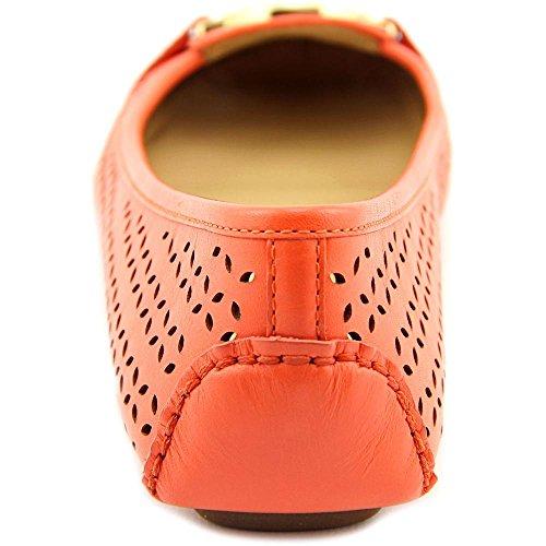 Michael Michael Kors Fulton Moc Cuir Ballerines Pink Grapefruit