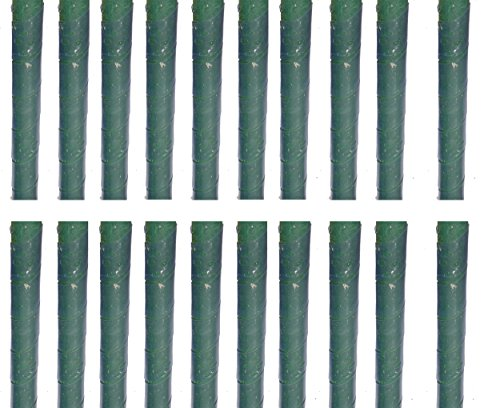 20 Baumschutz Manschetten Stamm Schutz Bäume Verbiss Fraßschäden Baum Rinden Schutz. Transparent - Daher kaum zu sehen.