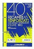 Blasetti 2327 Ricambi rinforzati con banda trasparente, a righe, A5