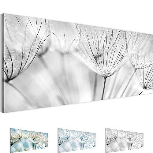 Bilder – Wandbild - Vlies Leinwand - 100 x 40 cm - Pusteblume Bild - Kunstdrucke – mehrere Farben und Größen im Shop - Fertig Aufgespannt !!! 100% MADE IN GERMANY !!! - Blumen – Natur 209812c