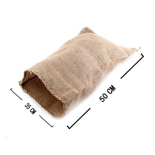 schen Säcke Kartoffelrasse Taschen Sandsäcke Rupfen Sack 35x50 ()