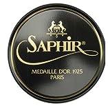 SAPHIR MEDAILLE DOR 1925 PATE DE LUXE 50ML WAX SHOE POLISH (Black)