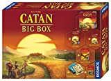 KOSMOS - CATAN Big Box 2019, Starterset mit CATAN, Das Spiel inklusive  Erweiterung, Würfelspiel...