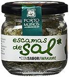 Porto Muiños Escamas de Sal con Sabor a Wakame - Paquete de 2 x 96 gr - Total: 192 gr