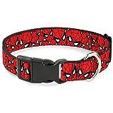 Buckle Down Katzenhalsband, mit Schnappverschluss, Design Spider-Man