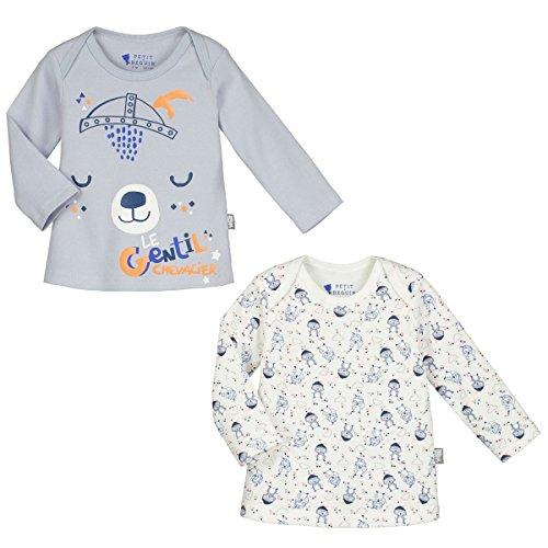 petit-beguin-lot-de-2-t-shirts-manches-longues-bebe-garcon-magic-dragon-taille-18-mois-86-cm
