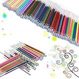 verlike Geltinte-Minen für Gel Pen, Fine Point, Glitter Färben Einheitsgröße 48 Colors