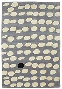 camouflage handtufted grau teppich 200x300 moderner teppich k che haushalt. Black Bedroom Furniture Sets. Home Design Ideas