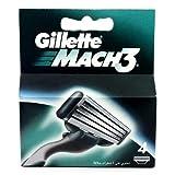 1x Stück 4Echt Gillette Mach3Rasur-Patronen Herren Rasentrimmer Refills Ersatz reinigen Glatte Mach 3Rasierer blades-4+ Vibe® Mini Stylus