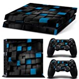 Linyuan Calidad Estable Y17* Full Body Decal Skin Sticker para PlayStation 4 PS4 Console+Controllers